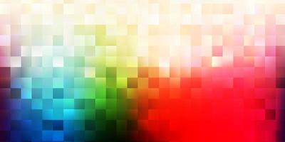 Light green, red vector backdrop with chaotic shapes.