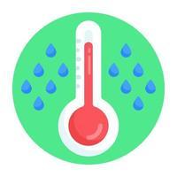 Rain Gauge udometer vector