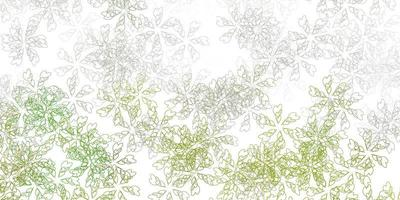 Light gray vector abstract background with leaves.
