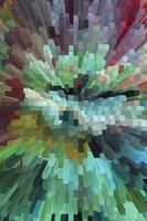 Abstract block background vector