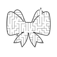 Maze for kids. Puzzle for children.  Labyrinth conundrum. vector