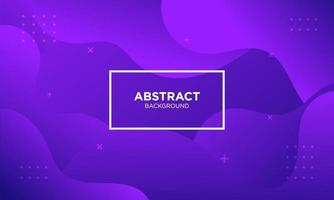 Abstract Purple Fluid Wave Background vector