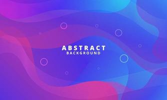 Abstract Colorful Fluid Wave Background vector