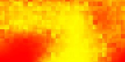 Light orange vector template with abstract forms.