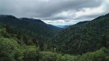 Time lapse from Smoky Mountain in summer time video