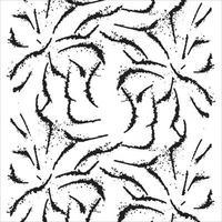 Black paint brush strokes vector seamless pattern. lines illustration.