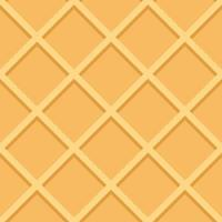 Waffle Seamless Pattern Background Vector Illustration