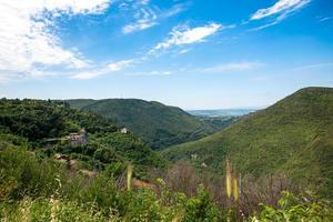 landscape of the valleys of narni photo