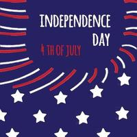 Vector illustration of Independence