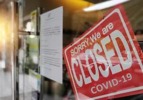 Coronavirus covid- 19 economic crisis photo