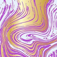 Gold, pink and white marble vector texture