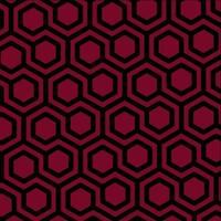 Hexagons Pattern, Abstract Geometric Background vector