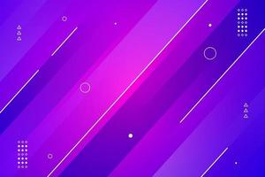 abstract colorful geometric lines background vector