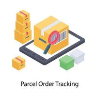 Barcode Scanning Concepts vector