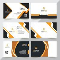 Modern And Professional Business Card Design Template vector