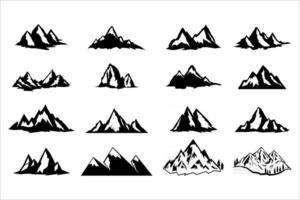 Mountain Peaks vector eps 10