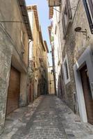 Buildings in Narni, Italy, 2020 photo