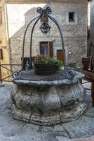 Well of the community of Narni, Italy, 2020 photo