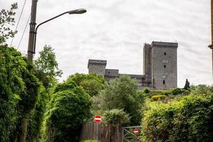 Albornoz fortress on the hill above Narni, Italy, 2020 photo