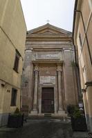 Church of San Pietro Apostolo in the center of Nepi, Italy, 2020 photo