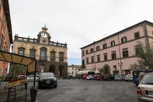 The center of Nepi, Italy, 2020 photo