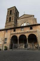 Cathedral of the village of Nepi, Italy, 2020 photo