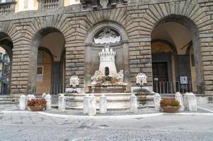 Fountain in Nepi, Italy, 2020 photo