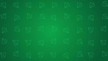 Geometry pattern with squared pyramids background animation video