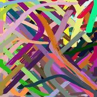 Artistic Paint Brush Strokes Texture vector