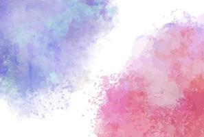 Watercolor Splash Decor vector