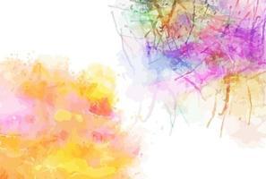 Watercolor Design Decor vector