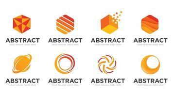 abstract modern logo vector template