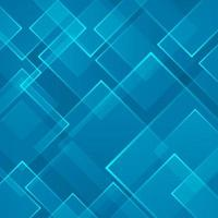 Abstract blue square shape technology laser background. Vector