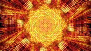 Kaléidoscope futuriste à haute énergie - boucle video