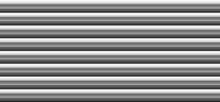 Abstract 3D black and gray bold stripes lines pattern white background vector