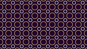 Beautiful shapes lines abstract pattern background video