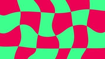 sfondo astratto con motivi di linee multicolori distorte video