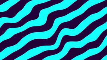 Abstract background with distorted multicolored line patterns video