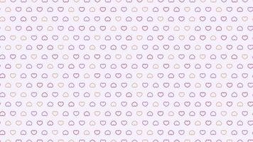 Sweet color line pattern background style wedding day concept video