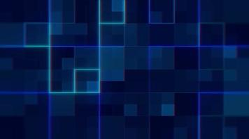 Abstract background with dot pattern or digital technology concept video