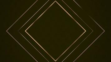 Frame background or shape concept luxury style video