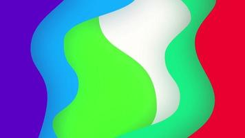 Abstract Background Beautiful Multicolored Distorted Shapes video