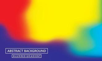 Abstract blurred gradient mesh background vector