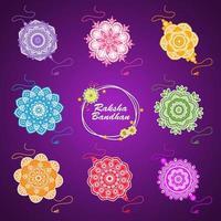 Raksha Bandhan Elements vector