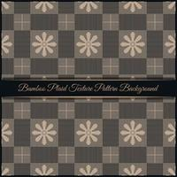 Bamboo Plaid Texture Pattern Background vector