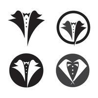 Tuxedo logo images vector