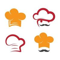 Chef logo images vector