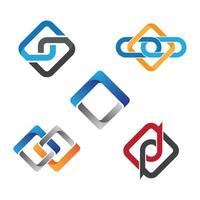 Bussiness corporate logo images vector