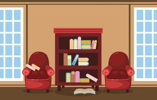 Illustration of isolated library vector