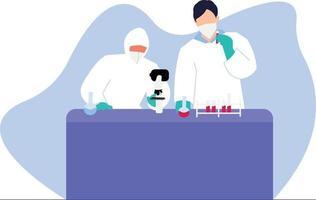 medical pharmacy lab vector